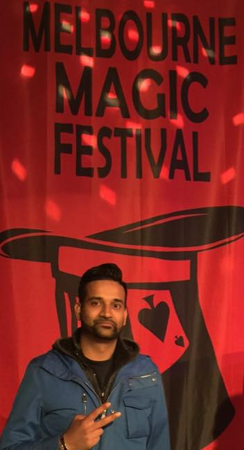 Durgy at the Melbourne Magic Festival 2015