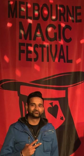 Durgy at the Melbourne Magic Festival 2015